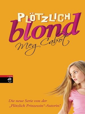cover image of Plötzlich blond
