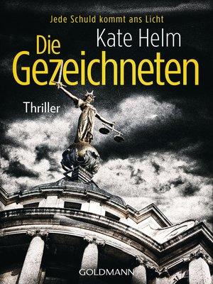 cover image of Die Gezeichneten