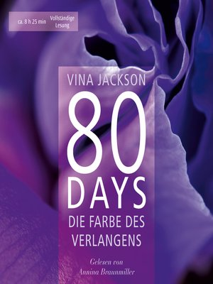 cover image of 80 Days--Die Farbe des Verlangens