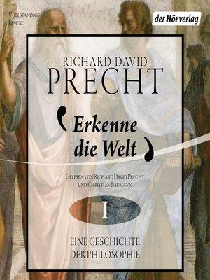 cover image of Erkenne die Welt