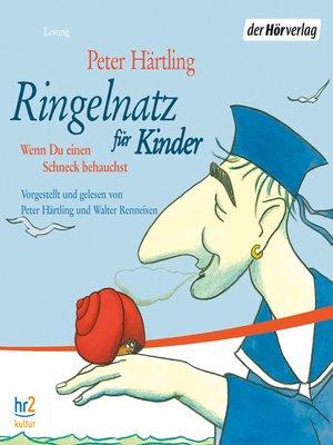 cover image of Ringelnatz für Kinder