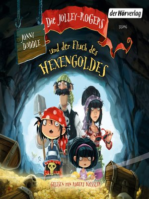 cover image of Die Jolley-Rogers und der Fluch des Hexengoldes
