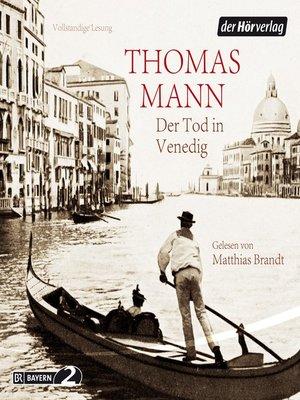 cover image of Der Tod in Venedig