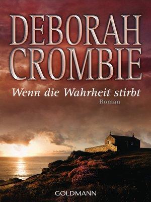 cover image of Wenn die Wahrheit stirbt