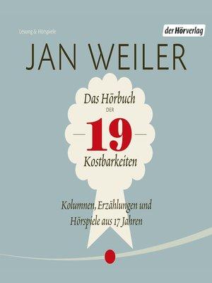 cover image of Das Hörbuch der 19 Kostbarkeiten
