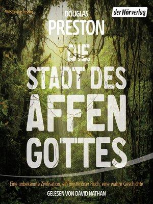 cover image of Die Stadt des Affengottes