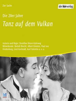 cover image of Die 20er Jahre