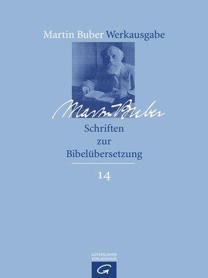 cover image of Schriften zur Bibelübersetzung