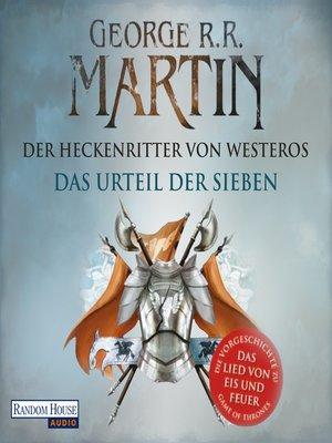 cover image of Das Urteil der Sieben