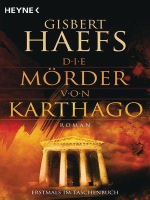 cover image of Die Mörder von Karthago
