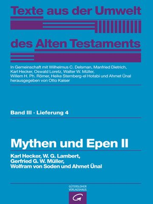 cover image of Mythen und Epen II