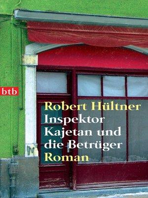 cover image of Inspektor Kajetan und die Betrüger