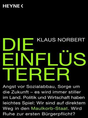 cover image of Die Einflüsterer