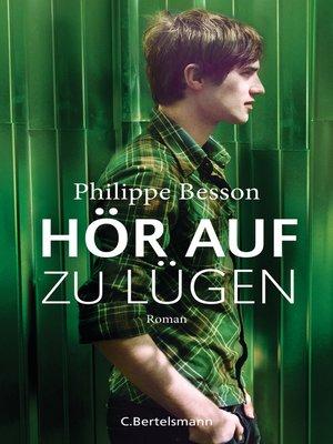 cover image of Hör auf zu lügen