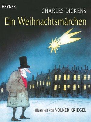 cover image of Ein Weihnachtsmärchen