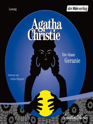 cover image of Die blaue Geranie