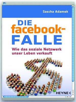 cover image of Die facebook-Falle
