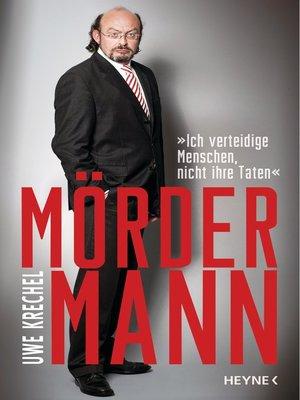 cover image of Mördermann