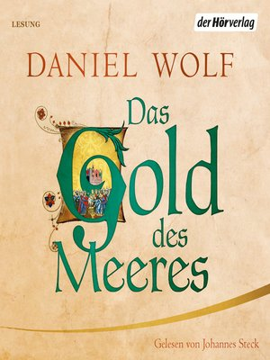 cover image of Das Gold des Meeres
