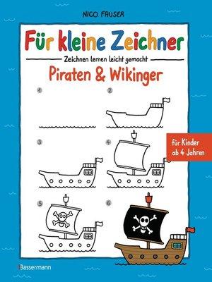 cover image of Für kleine Zeichner--Piraten & Wikinger