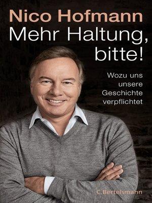 cover image of Mehr Haltung, bitte!