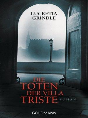 cover image of Die Toten der Villa Triste