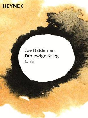 cover image of Der ewige Krieg