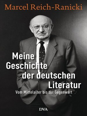 cover image of Meine Geschichte der deutschen Literatur