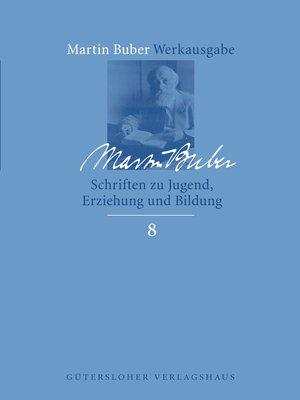 cover image of Schriften zu Jugend, Erziehung und Bildung