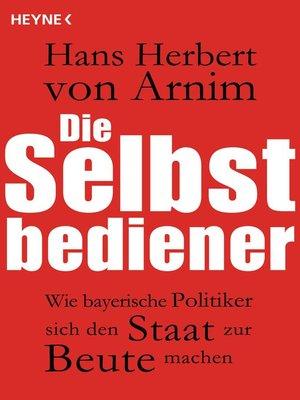 cover image of Die Selbstbediener