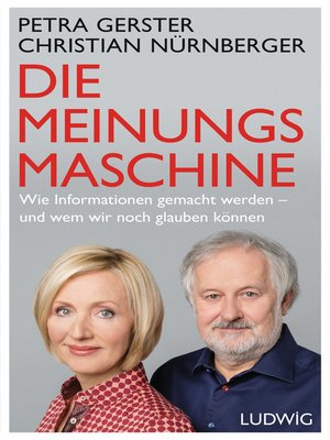 cover image of Die Meinungsmaschine