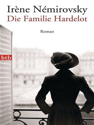 cover image of Die Familie Hardelot
