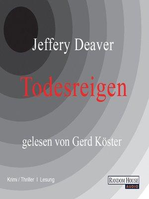 cover image of Todesreigen