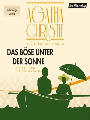 cover image of Das Böse unter der Sonne