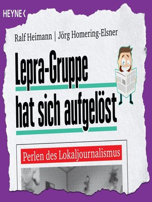 cover image of Lepra-Gruppe hat sich aufgelöst