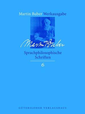 cover image of Sprachphilosophische Schriften