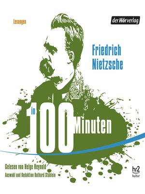 cover image of Nietzsche in 100 Minuten