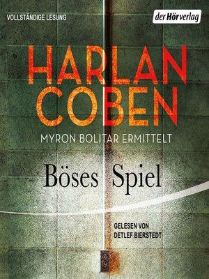 cover image of Böses Spiel--Myron Bolitar ermittelt