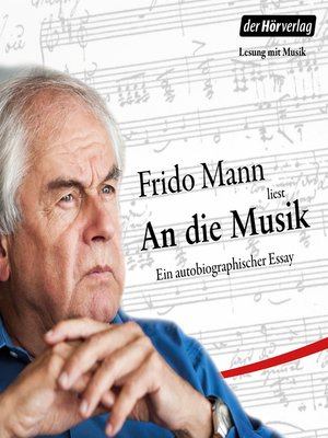 cover image of An die Musik
