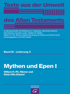 cover image of Mythen und Epen I