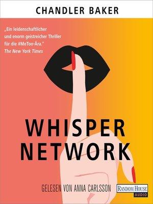 cover image of Whisper Network
