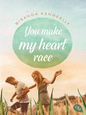 cover image of You make my heart race