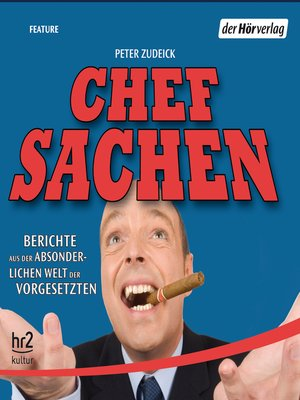 cover image of Chefsachen