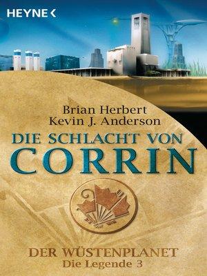 cover image of Die Schlacht von Corrin
