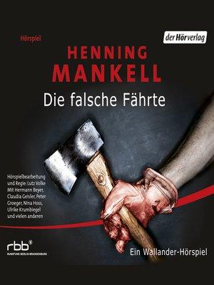 cover image of Die falsche Fährte
