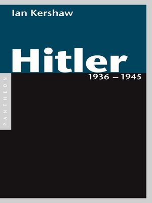 cover image of Hitler 1936 – 1945