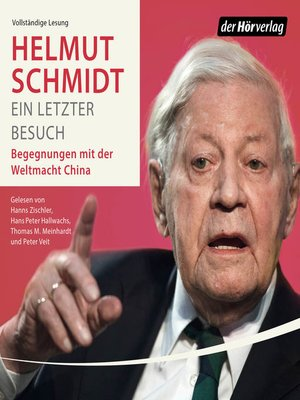 cover image of Ein letzter Besuch