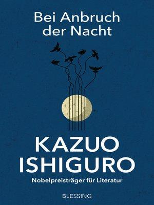 cover image of Bei Anbruch der Nacht