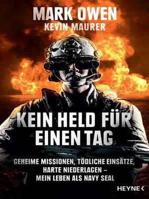 cover image of Kein Held für einen Tag