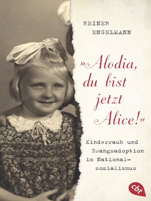 "cover image of ""Alodia, du bist jetzt Alice!"""